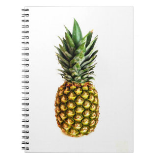 Notebook with pineapple photo print
