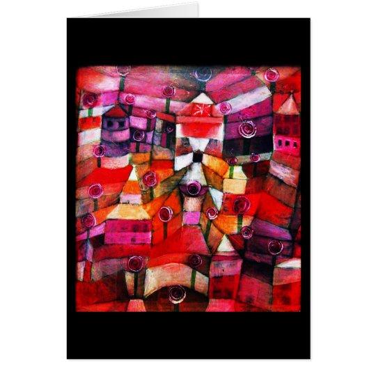 Notecard-Classic/Vintage-Paul Klee 6 Card