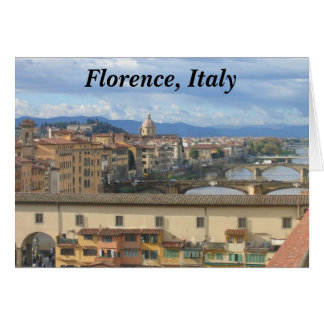 Notecard:  Florence, Italy Card