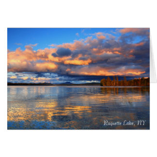 Notecard - Raquette Lake, NY