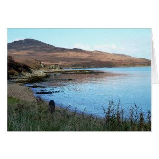 Notecard: Scottish Bay Card