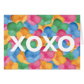 Notecard - xoxo