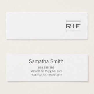Notecards or Business Cards