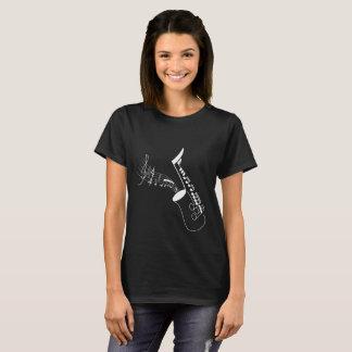 Notehead Saxophone T-Shirt