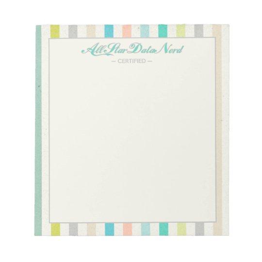 Notepad - All Star Data Nerd v. 2
