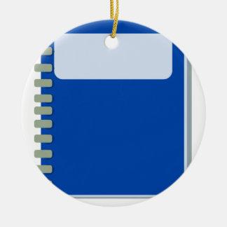 Notepad Ceramic Ornament