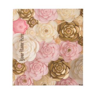 Notepad Floral Design