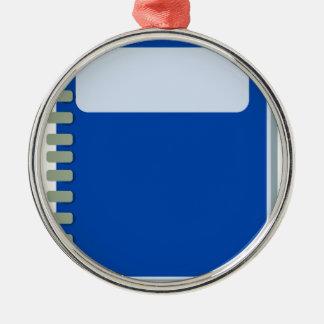 Notepad Metal Ornament