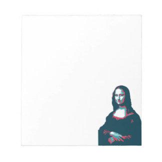Notepad Mona lisa.