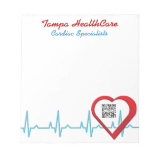 Notepad Template Heart Health