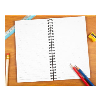 Notepad with stationery personalized letterhead