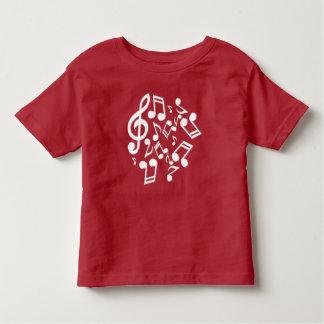 notes and lyrics toddler t-shirt