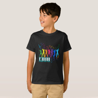 Notes and People - Kids T-Shirt