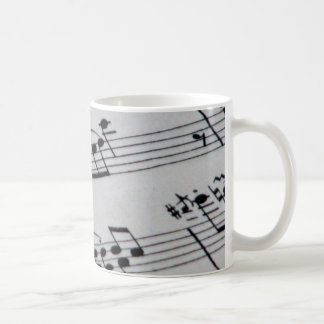 Notes Coffee Mug