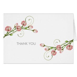Notes de Merci de roses de jardin