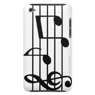 Notes de musique coque Case-Mate iPod touch