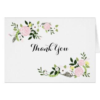 Notes florales de Merci de jardin - blanc