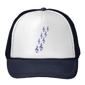 Notes Mesh Hats