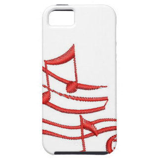 notes imitation of embroidery iPhone 5 case
