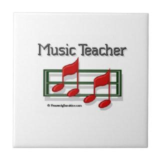 Notes Music Teacher Tile