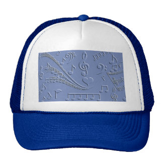 Notes of love_ trucker hat