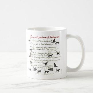 Notes on the Gentle Art of Herding Cats Basic White Mug