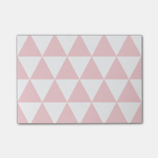 Notes post-it Pink Triangles Clear