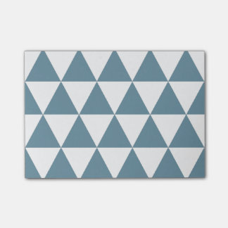 Notes post-it Triangles Blue