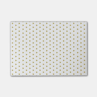 Notes Post-it® Triangles Gold