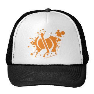Notes Splatter Trucker Hat