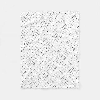 Notesai Fleece Blanket