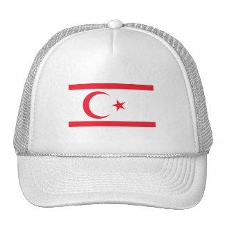 Nothern Cyprus Flag Trucker Hat