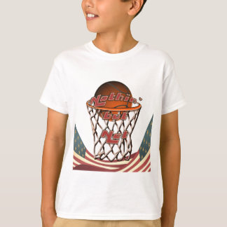 Nothin' But Net Basketball in Hoop T-Shirt