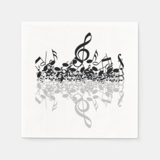 Nothin' But Treble Music Notes Paper Napkins