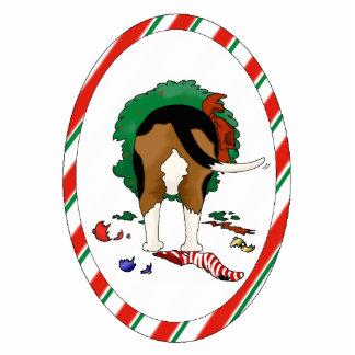 Nothin' Butt A Beagle Christmas Ornament Photo Sculpture Ornament