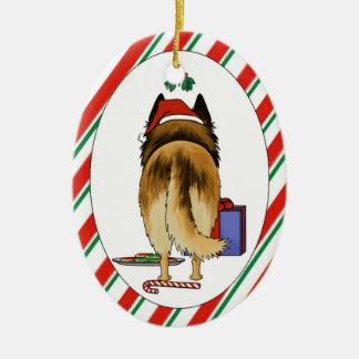 Nothin' Butt A Belgian Christmas Ornament