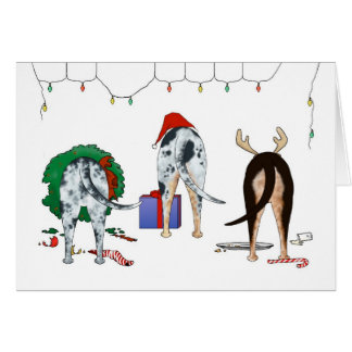 Nothin' Butt A Catahoula Christmas Card