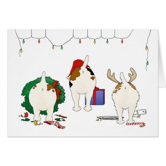 Nothin' Butt A Jack Christmas Card