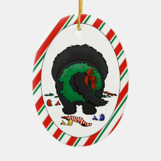Nothin' Butt A Newfie Christmas Ornament