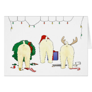 Nothin' Butt A Wheaten Christmas Card