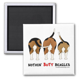 Nothin Butt Beagles Magnets