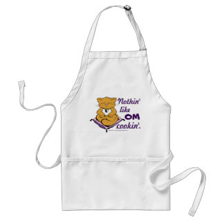 Nothin' Like OM Cookin'! Cute Zen Cat Apron