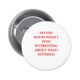 NOTHING 2 INCH ROUND BUTTON