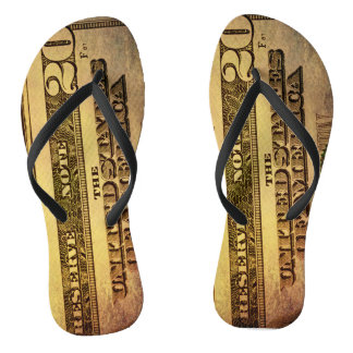 Nothing but 20's flip flops