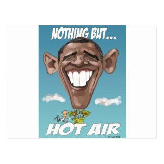 Nothing But Hot Air Obama Balloon Postcard