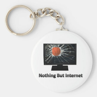 Nothing But Internet Keychain