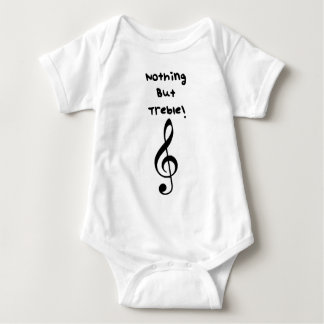 Nothing But Treble! Baby Bodysuit