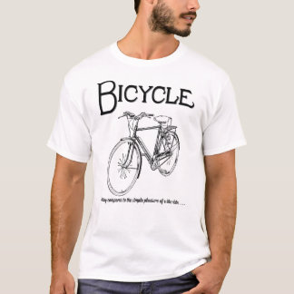 Nothing compares to the simple pleasure of a bike T-Shirt
