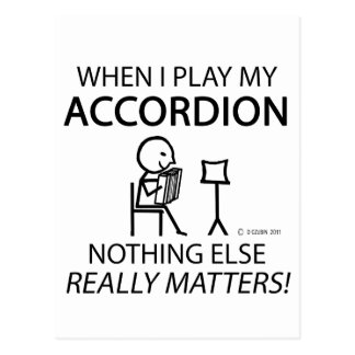 Nothing Else Matters Accordion Postcards