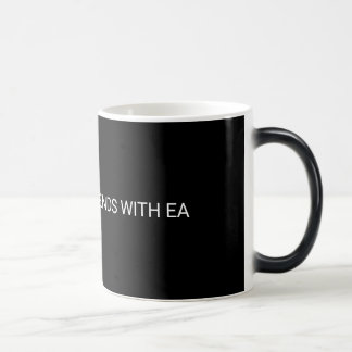 NOTHING GOOD ENDS WITH EA MUG